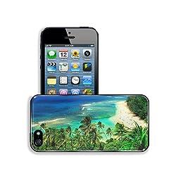 Nature Hawaii Kauai Beaches Scenery Apple iPhone 5 / 5S Snap Cover