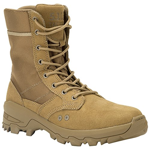Suede Coyote Boot - 5.11 Men's Speed 3.0 Jungle Military and Tactical Boot, Dark Coyote, 11.5 M US