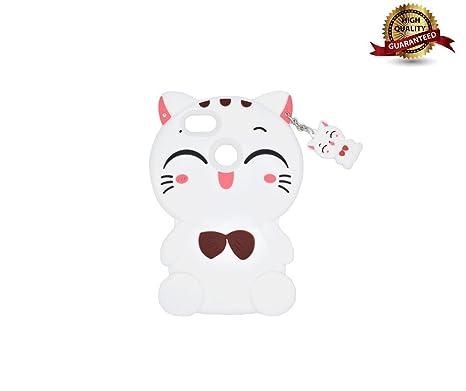 grande vendita 82809 3c6db XIAOQINGXU Custodia Huawei Y6 PRO 2017 3D Fashion Cute Cat ...
