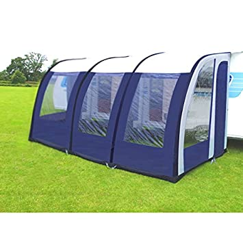 Greenbay 390 Xl Lightweight Caravan Porch Awning Waterproof Blue