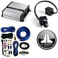 JL Audio Core Single Amplifier Connection System 60-AMP Capacity / Mono Subwoofer Amplifier - 500 Watts RMS X 1 At 2 Ohms W/ Remote Bass Control Amp Kit