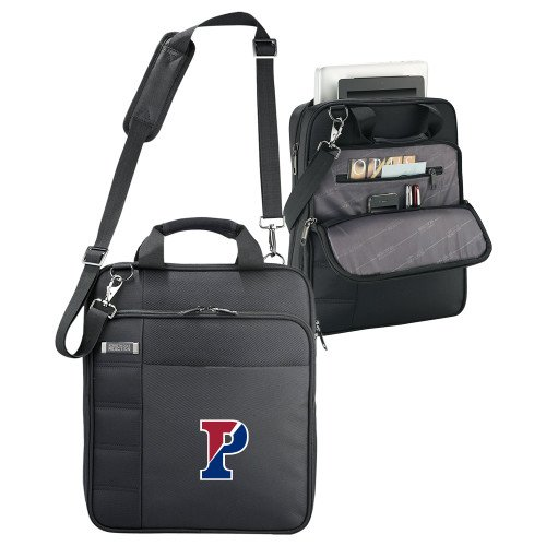 Penn Kenneth Cole Black Vertical Checkpoint Friendly Messenger 'Split P' by CollegeFanGear