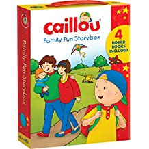 Caillou: Family Fun Story Box: Includes 4 Board Books