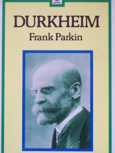 Durkheim (Past Masters)
