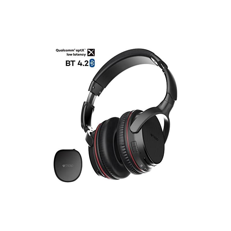 TROND Bluetooth V4.2 Headphones Over Ear