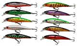Walleye Fishing Lures Review and Comparison