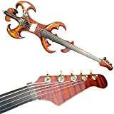 Brown Color SONG Maestro 5 strings 4/4 Electric Cello Crazy-4