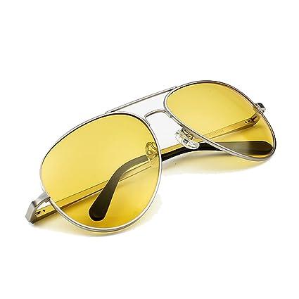 TESITE Gafas Polarizadas para Hombres Gafas De Sol 100% Resistente Al UV Espejo De ConduccióN