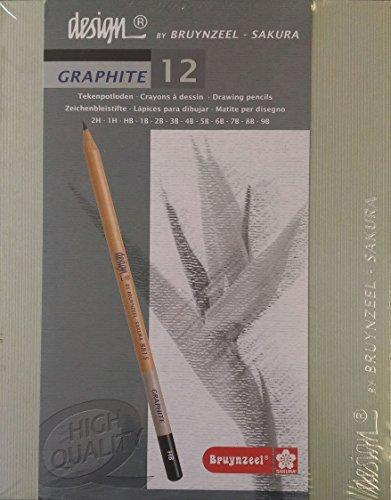 talens-bruynzeel-design-12-piece-graphite-pencil-set