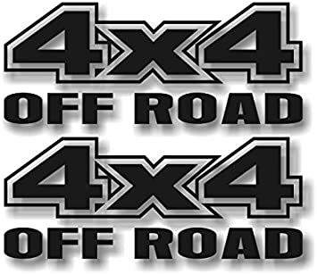 Super Duty F-250 4x4 Truck Bed Decals MATTE BLACK for Ford F-150 Set etc.
