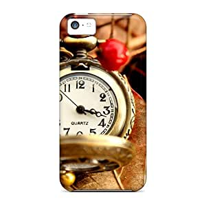 Tough Iphone WnD2102ZohI Cases Covers/ Cases For Iphone 5c(beautiful Vintage Watch)