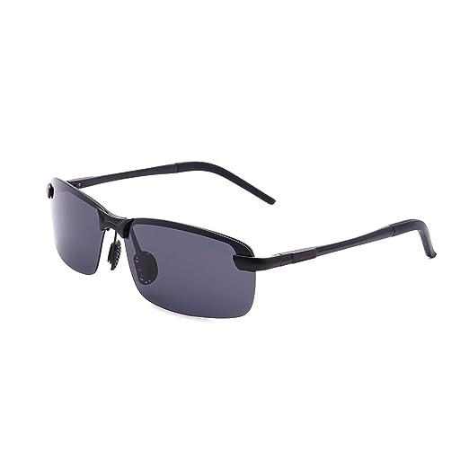 665a99405b9 Rectangular Sunglasses Driving Night Vision Glasses Mental Frame ...