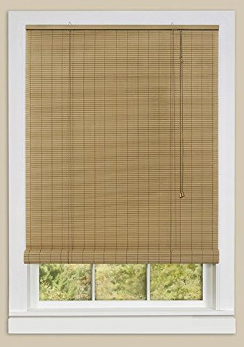 PowerSellerUSA Woodtone Oval Rollup Window Blinds Shades: 60