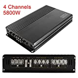 5800W 12V 4 Channel Car Amplifier Stereo Audio
