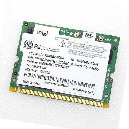 Intel pro wireless 2200bg mini-pci drivers for mac