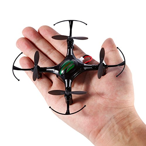 FPVRC K8 Mini RC Quadcopter ,2.4G 4 CH Nano Drone with Headless Mode ,RTF RC Quadcopter(Black)