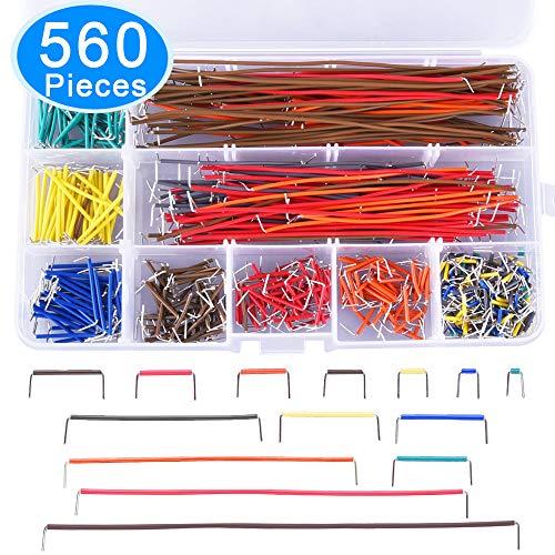 AUSTOR 560 Pieces Jumper Wire Kit 14 Lengths