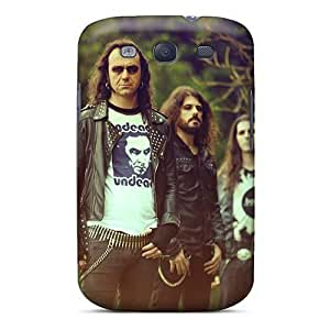 Samsung Galaxy S3 Qxk12054yZnw Provide Private Custom Lifelike Moonspell Band Morbid God Pattern Shock Absorption Cell-phone Hard Cover -EricHowe