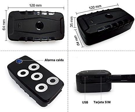Yatek Localizador GPS Lapa por Iman 209b con Gran Autonomia De 120 Dias, Ideal para Seguimientos Y Rastreos: Amazon.es: Electrónica