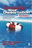 img - for Surviving Your Dissertation: A Comprehensive Guide to Content and Process (Surviving Your Dissertation: A Comprehen (Hardcover)) book / textbook / text book