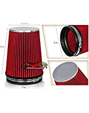 RED Air Intake Cone Replacement Quality Dry Air Filter