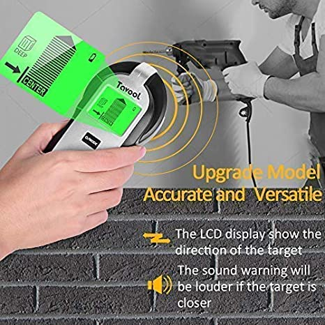 Amazon.com: Buscador de pernos Sensor de pared Escáner de ...