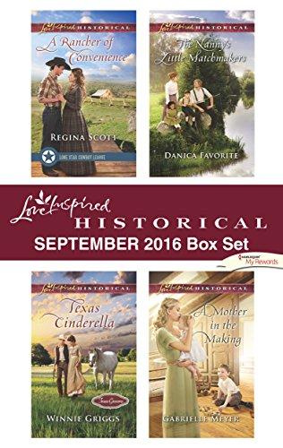 book cover of Harlequin Love Inspired Historical September 2016 Box Set