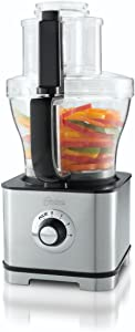Oster FPSTFP4253 14-Cup Food Processor with 5-Cup Mini Chopper, Stainless Steel