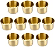 Brybelly GCUP-301 Lot of 10 Brass Drop-in Cup Holders (Standard)