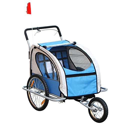 2 In 1 Bike Trailer Stroller - 9
