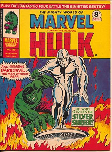 Mighty World of Marvel #140 1975-Jack Kirby-Silver Surfer-Hulk-VF