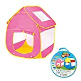 ToyPark Big Children Play Tent for Girls and Boys with 2 Doors and 2 Mesh Windows