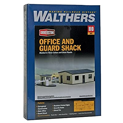 Walthers Cornerstone Office and Guard Shack: Toys & Games [5Bkhe0305888]