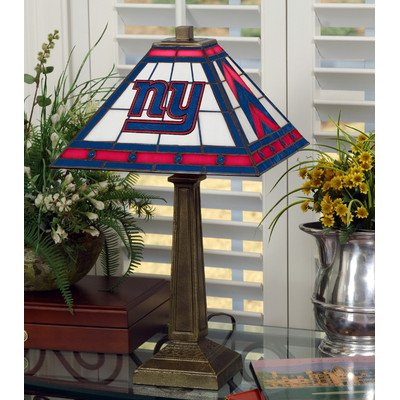 Memory Company New York Giants Mission Lamp by The Memory Company