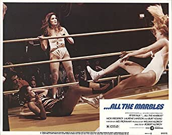 Amazon Com All The Marbles 1981 Authentic 11 Quot X 14