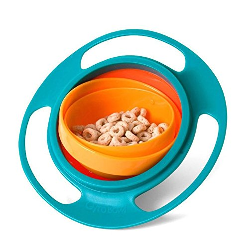 360 Rotate Spill-Proof Baby Bowl Children