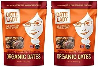 product image for Date Lady Organic Barhi Dates | Vegan, Paleo, Gluten-free & Kosher (2 Bags)