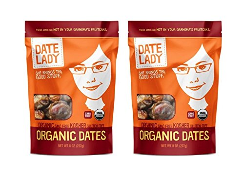 Date Lady Organic Dates (2 bags)