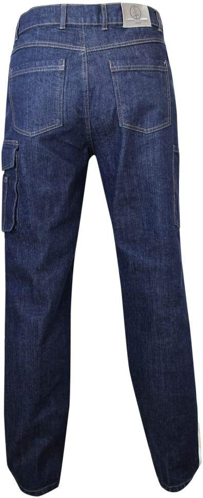 LMA 146700 WORK Jeans Extensible Multipoches Denim Stretch Taille 38