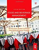 img - for Food and Beverage Management by Davis, Bernard, Lockwood, Andrew, Alcott, Peter, Pantelidis, [Routledge,2012] [Hardcover] 5TH EDITION book / textbook / text book