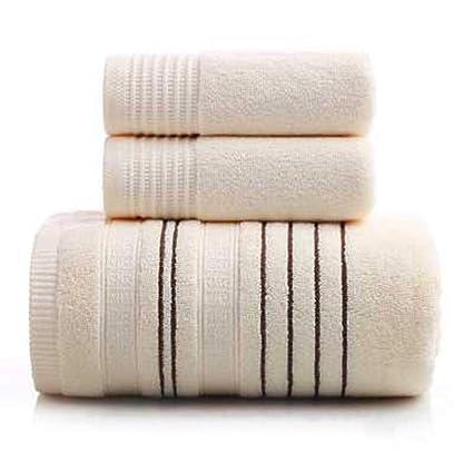 LIANG Juego de Toallas de baño, algodón Aumente la Toalla Absorbente Suave y Gruesa (