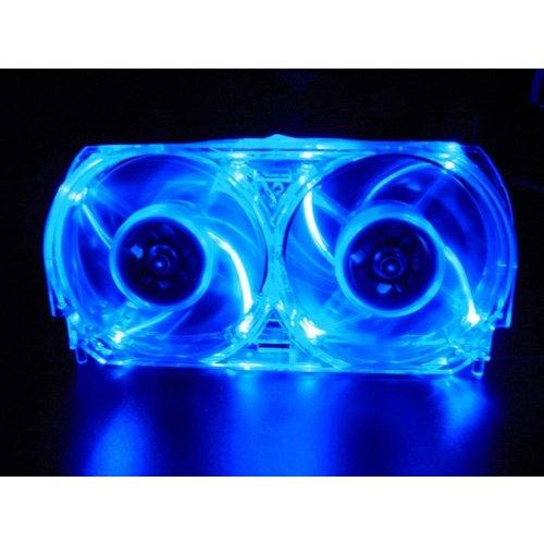 Talismoon Whisper Fan for Xbox 360, in Blue - Xbox 360 Whisper Fan