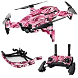 MightySkins Skin for DJI Max Coverage - Pink Roses | Protective, Durable, and Unique Vinyl Decal wrap Cover | Easy to Apply, Remove, and Change Styles | Made in The USA