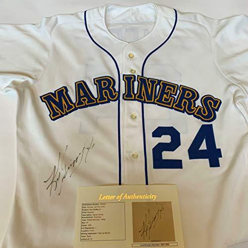 Autographed Ken Griffey Jr. Jersey - Rookie 1989 Game Model COA - JSA Certified - Autographed MLB Jerseys