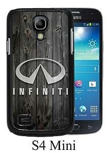 PAN Personalized Design Infiniti logo 1 Black Samsung Galaxy S4 Mini Case