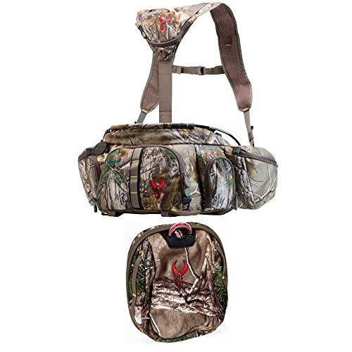 Monster Fanny Pack (Badlands Monster Camouflage Hunting Fanny Pack and Rangefinder Binocular Hunting Case in Realtree Camo)