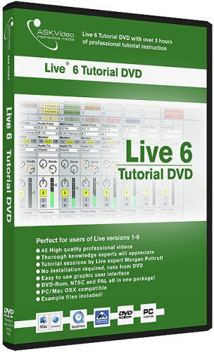 Ask Video Live Tutorial DVD for PC and Mac -