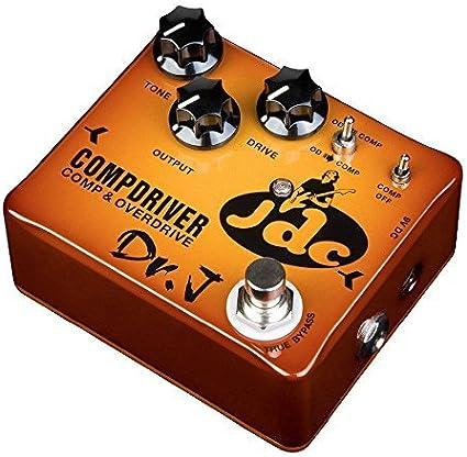 DR.J - JGC Compresor Overdrive efectos de guitarra pedal Modelo de ...