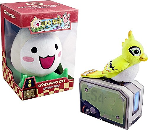Overwatch Pachimari & Ganymede Exclusive BlizzCon Plush Set of 2 in Box Official Merch from