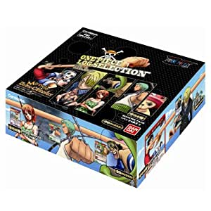 Miracle Battle Carddass Super Fight Arc ONE PIECE Log Selection Booster BOX (japan import)